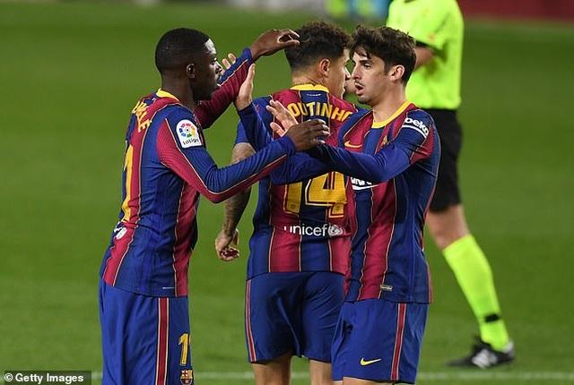 HLV Koeman: Không thể nói Barcelona chơi tốt hơn khi vắng Messi - 2
