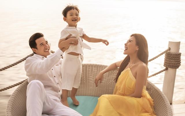 Lương Thế Thành, Thúy Diễm vi vu Phú Quốc cùng con trai - 6