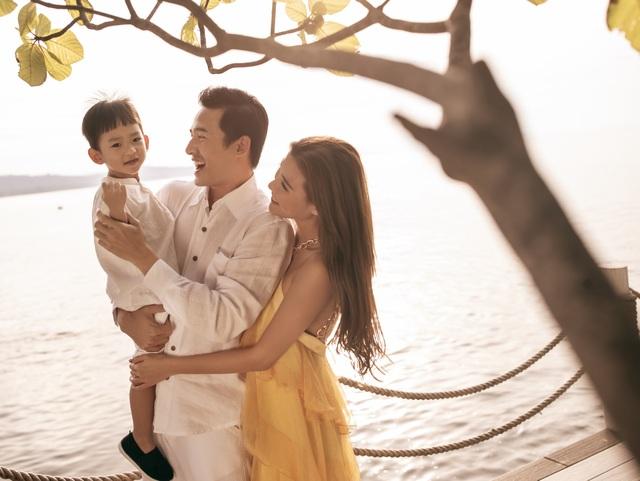 Lương Thế Thành, Thúy Diễm vi vu Phú Quốc cùng con trai - 3