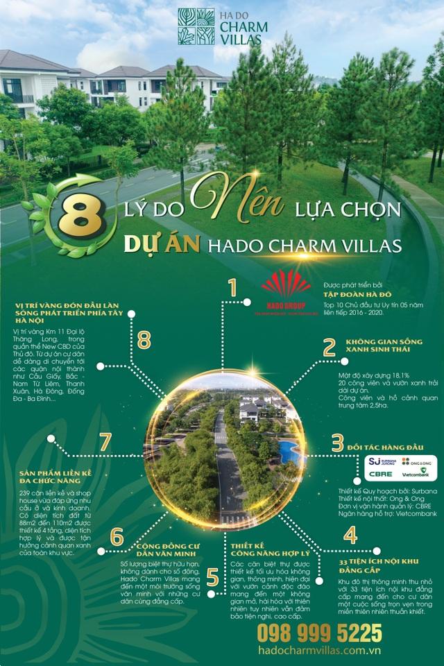 8 lý do nên chọn dự án Hado Charm Villas - 1