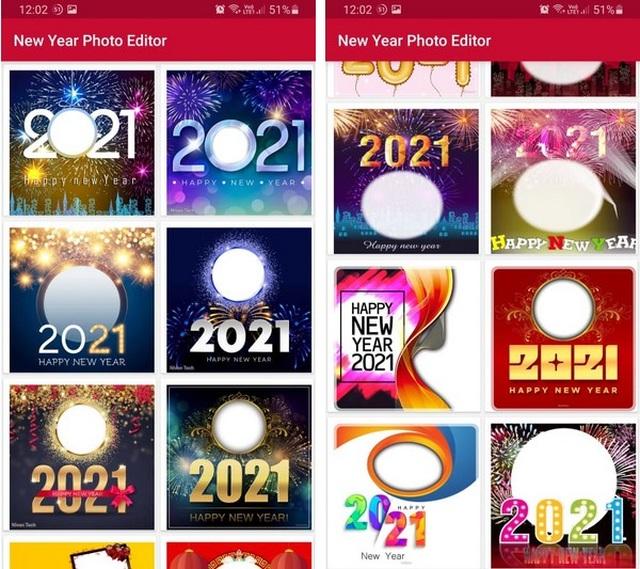Hướng dẫn tạo ảnh ghép đẹp mắt để đón chào năm mới 2021 - 2