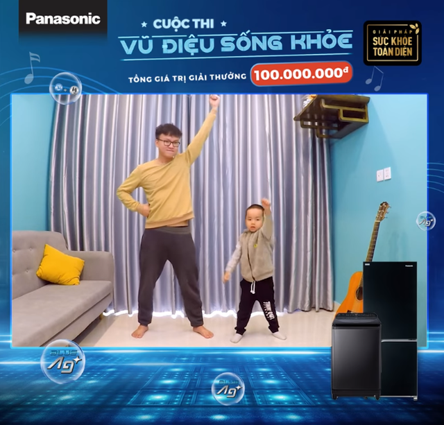 Điệu nhảy nào đang khiến 02 cặp bố con nổi tiếng trên mạng xã hội đều phải nhún nhảy theo? - 2