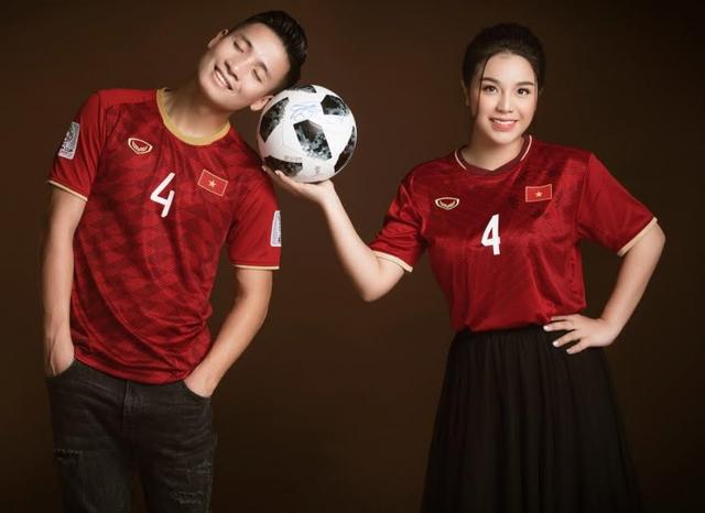 Bùi Tiến Dũng khoe ảnh cưới siêu đẹp cùng bạn gái Khánh Linh - 1