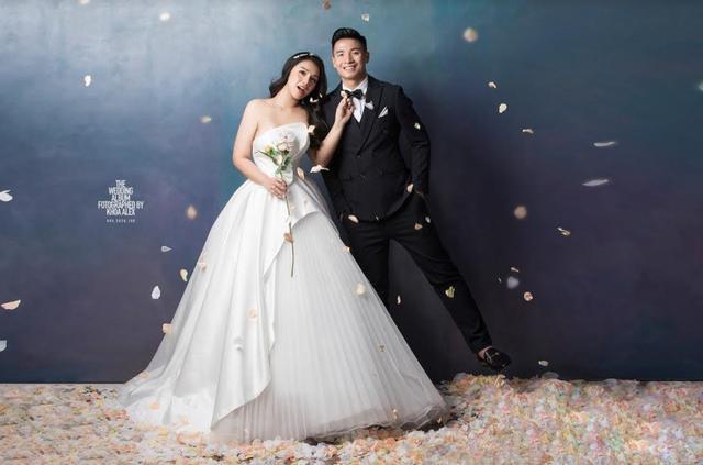 Bùi Tiến Dũng khoe ảnh cưới siêu đẹp cùng bạn gái Khánh Linh - 5