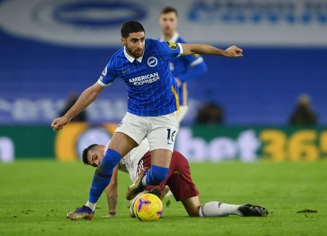Brighton 0-1 Arsenal: 21 giây tạo dấu ấn của Lacazette - 3