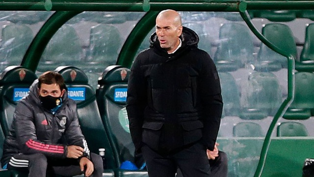 Real Madrid gây thất vọng tràn trề, HLV Zidane nói gì? - 1