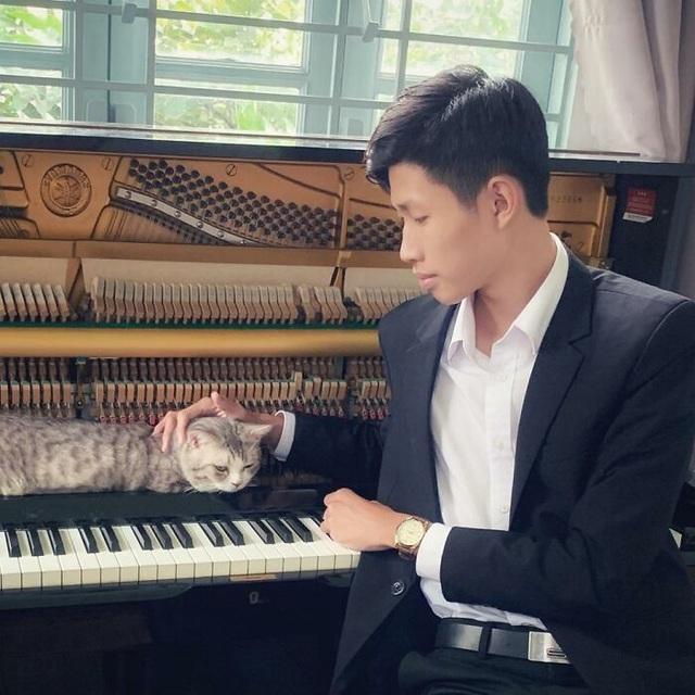 Nghệ sĩ piano người Việt gây sốt với loạt clip mèo lười nghe nhạc - 1