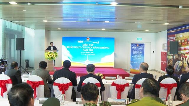 Triển khai diễn tập khẩn nguy sân bay 2020 tại Cảng HKQT Vân Đồn - 1