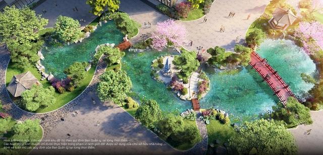 Bộ tứ sắc xanh độc đáo của thành phố biển hồ Vinhomes Ocean Park - 5