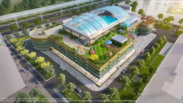 Bộ tứ sắc xanh độc đáo của thành phố biển hồ Vinhomes Ocean Park - 6