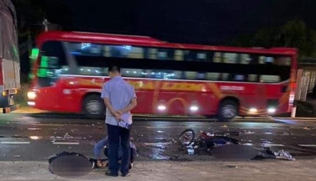 Hai thanh niên tử nạn trên đường về quê nghỉ tết - 1