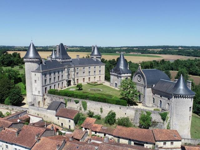 Không gian xa hoa trong tòa biệt thự Pháp cổ 1.000 năm giá 3,3 triệu USD - 2