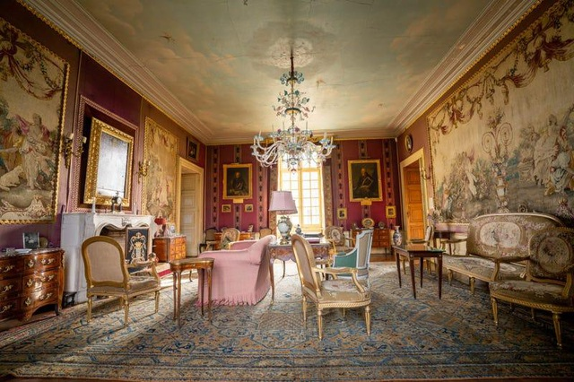 Không gian xa hoa trong tòa biệt thự Pháp cổ 1.000 năm giá 3,3 triệu USD - 8