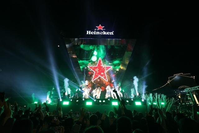 Trải nghiệm đẳng cấp tại sự kiện Heineken Countdown 2021 - 2