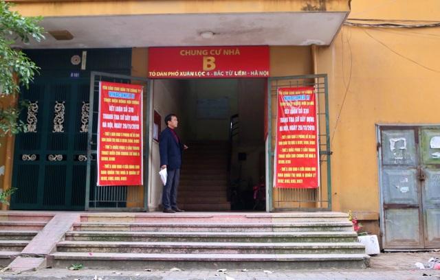 Hà Nội: Bịt lối thoát hiểm, biến nhà xe chung cư thành căn hộ để bán - 1