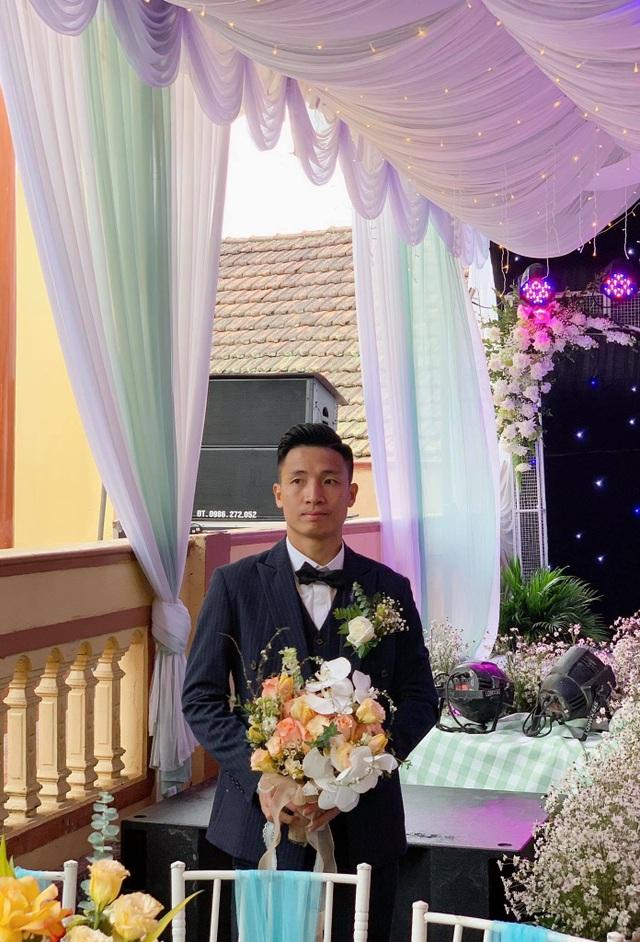 Bùi Tiến Dũng lên xe hoa đón dâu ở Hà Tĩnh - 4