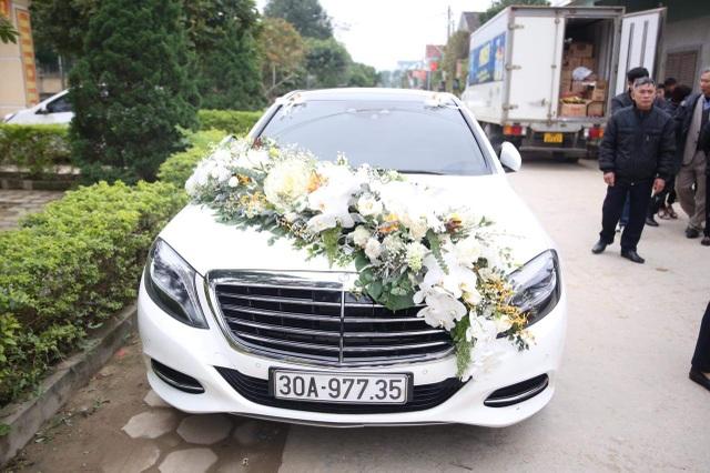 Bùi Tiến Dũng lên xe hoa đón dâu ở Hà Tĩnh - 3