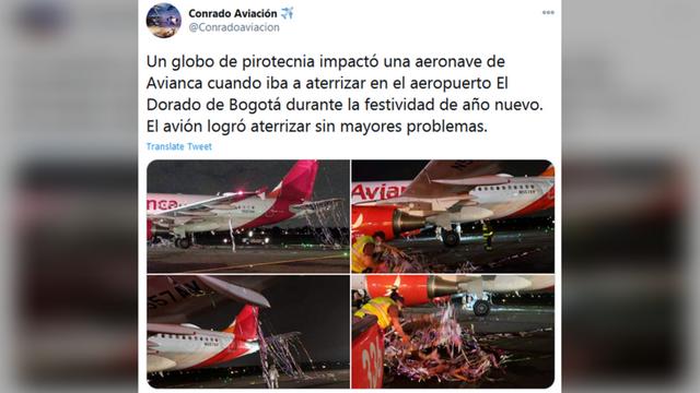 Máy bay suýt gặp thảm họa vì bóng pháo hoa mừng năm mới vướng vào động cơ - 1