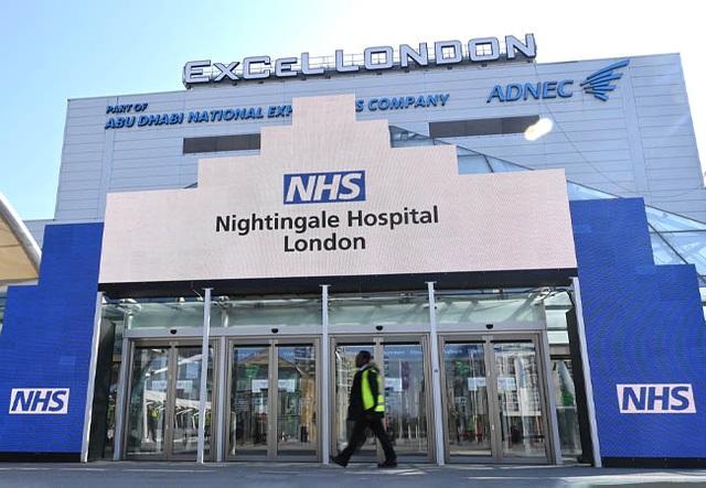 Hơn 50.000 ca mắc Covid-19 mỗi ngày, Anh kích hoạt lại bệnh viện dã chiến - 1