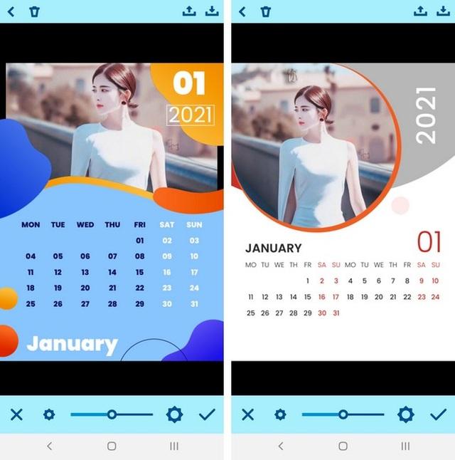 Hướng dẫn cách tự tạo bộ lịch năm 2021 đẹp mắt từ hình ảnh của chính bạn - 4