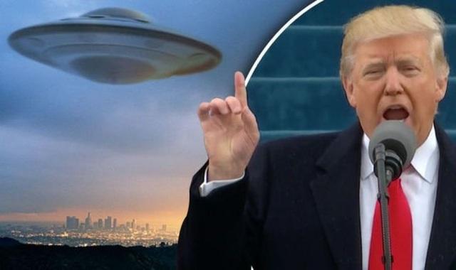 Ông Trump quyết phanh phui bí ẩn về người ngoài hành tinh trước khi mãn nhiệm - 2