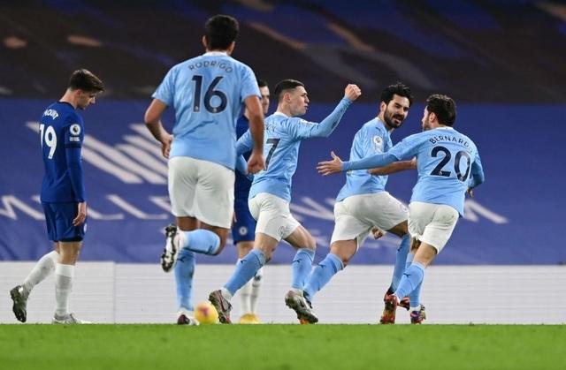 Chelsea 1-3 Man City: Hai phút, hai bàn thắng - 14