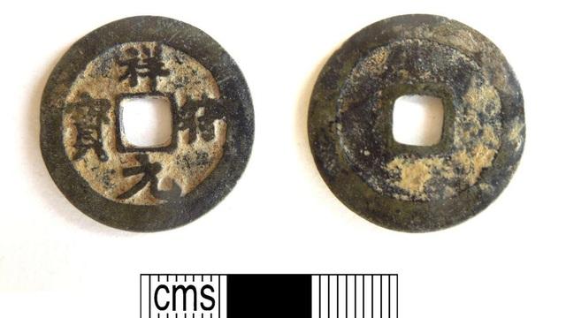 Khai quật đồng xu Trung Quốc thời Trung cổ ở… Vương quốc Anh - 1