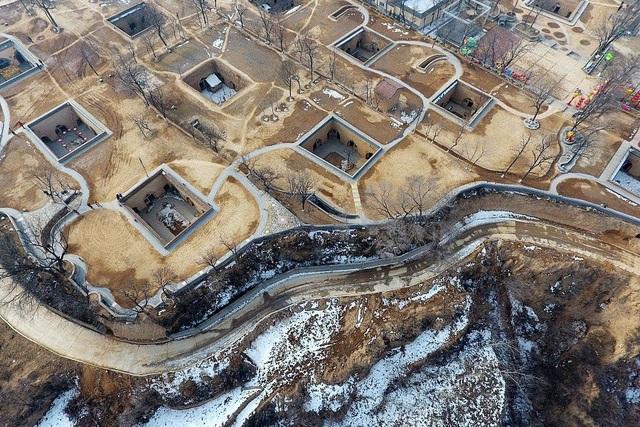 Bí ẩn làng cổ 4.000 năm dưới lòng đất độc nhất vô nhị ở Trung Quốc - 3