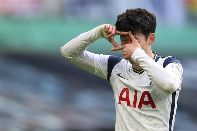 Son Heung Min: Tôi tự hào với thành tích 100 bàn cho Tottenham - 1