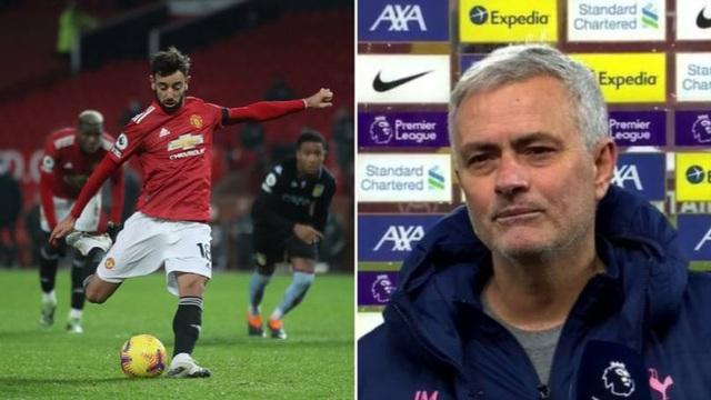 Ca ngợi Son Heung Min, HLV Mourinho cà khịa Bruno Fernandes - 2