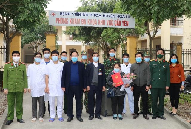 Bệnh nhân Covid-19 cuối cùng điều trị tại Ninh Bình được xuất viện - 2