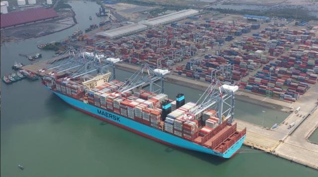 Các cảng biển VIMC đón những tấn hàng đầu năm 2021 - 5