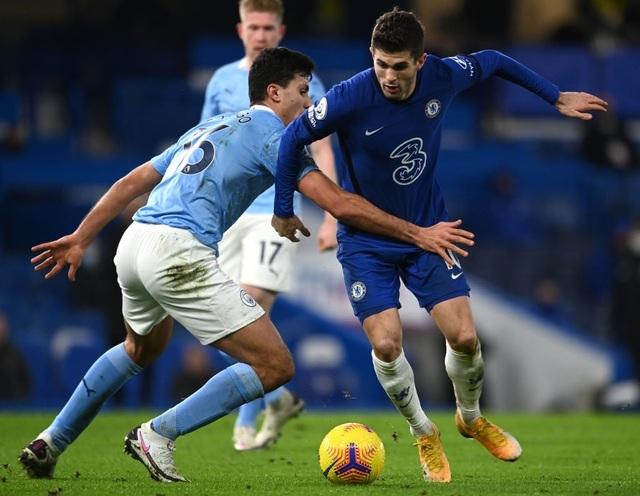 Chelsea 1-3 Man City: Hai phút, hai bàn thắng - 5