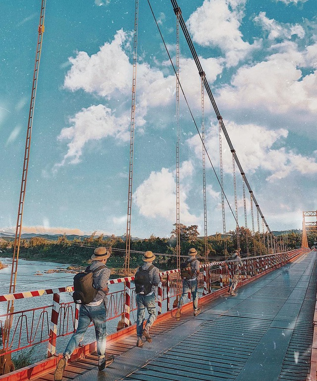 Come to the Central Highlands, do not forget to check-in with the beautiful virtual suspension bridge that loves Kon Klor - 7