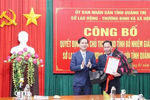 Chủ tịch UBND tỉnh Quảng Trị giao nhiệm vụ cho tân Giám đốc Sở LĐ-TBXH - 1