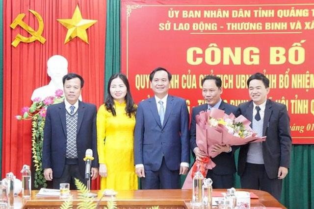Chủ tịch UBND tỉnh Quảng Trị giao nhiệm vụ cho tân Giám đốc Sở LĐ-TBXH - 2
