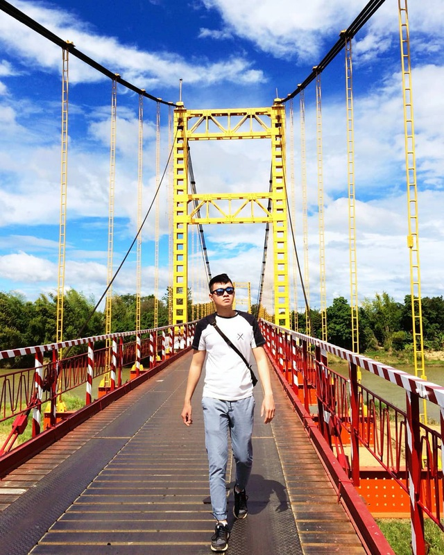 Come to the Central Highlands, do not forget to check-in with the beautiful virtual suspension bridge that loves Kon Klor - 5