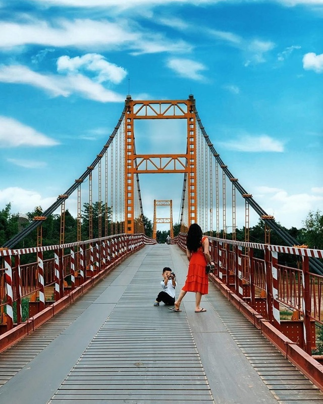 Come to the Central Highlands, do not forget to check-in with the beautiful virtual suspension bridge that loves Kon Klor - 10