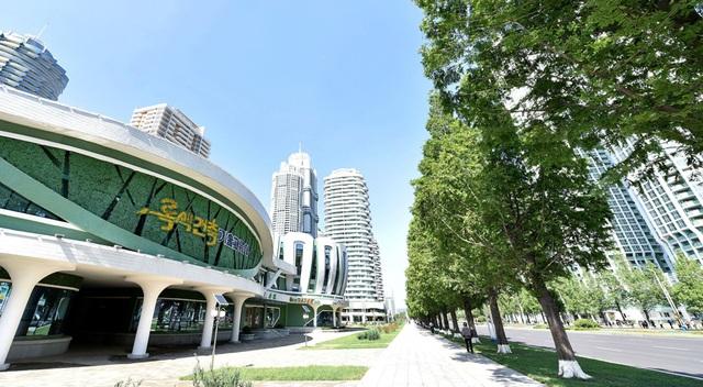 Toàn cảnh con phố hiện đại bậc nhất ở Triều Tiên với loạt cao ốc chọc trời - 7
