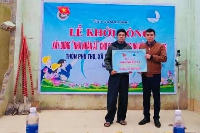 Tỉnh đoàn Quảng Bình xây dựng nhà nhân ái cho thanh niên khuyết tật - 1