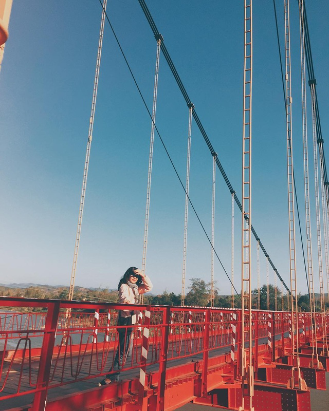 Come to the Central Highlands, do not forget to check-in with the beautiful virtual suspension bridge that loves Kon Klor - 9