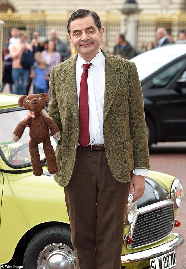 Rowan Atkinson kiệt sức vì đóng Mr Bean - 5