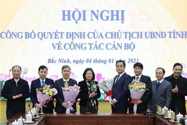 Bắc Ninh bổ nhiệm lãnh đạo sở LĐ - TB  XH, Thanh tra tỉnh - 1