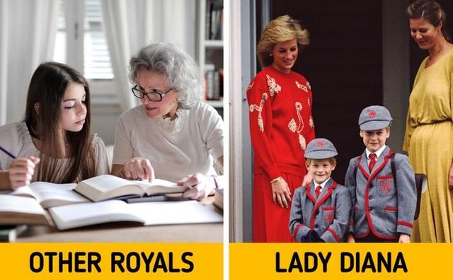 Những lần phá vỡ nguyên tắc hoàng gia về việc làm mẹ của công nương Diana - 3