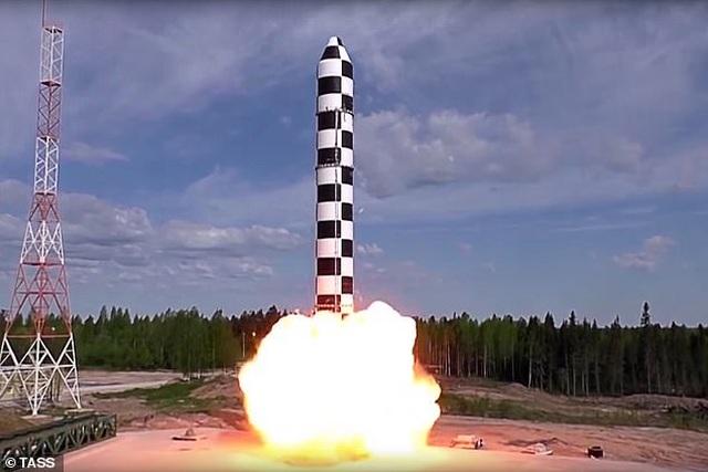 Nga sắp thử tên lửa quỷ satan có thể thách thức mọi lá chắn phòng không - 1