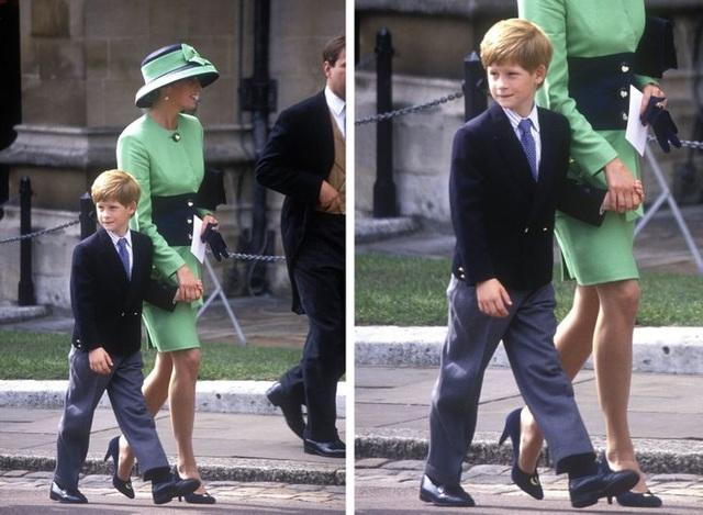 Những lần phá vỡ nguyên tắc hoàng gia về việc làm mẹ của công nương Diana - 6