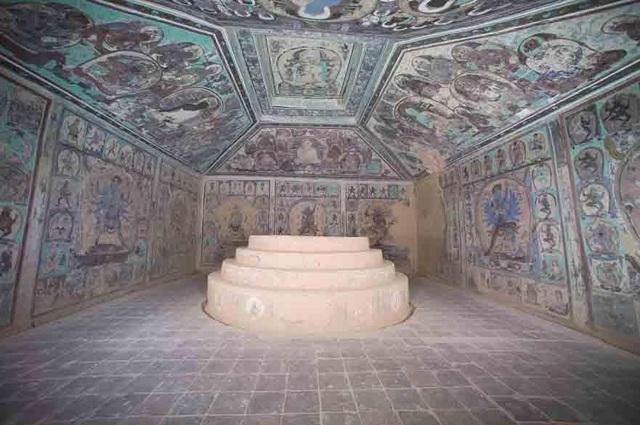 Bí ẩn những chữ viết trong hang động Phật giáo cổ đại ở Trung Quốc - 1