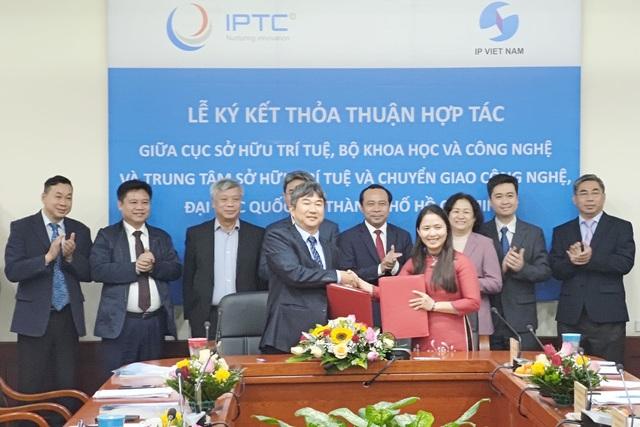 ĐHQG-HCM hợp tác với Cục Sở hữu trí tuệ để phát triển tài sản trí tuệ - 1