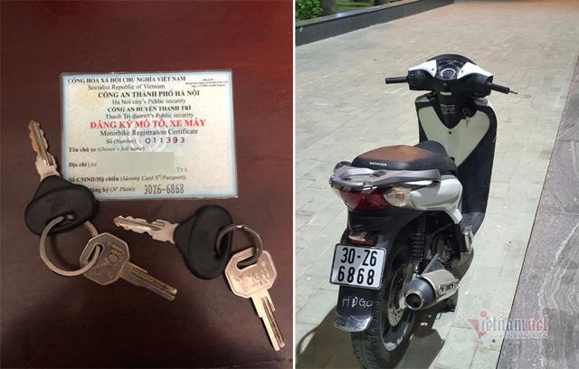Loạt xe Honda SH biển số VIP giá đắt gây sốt - 1