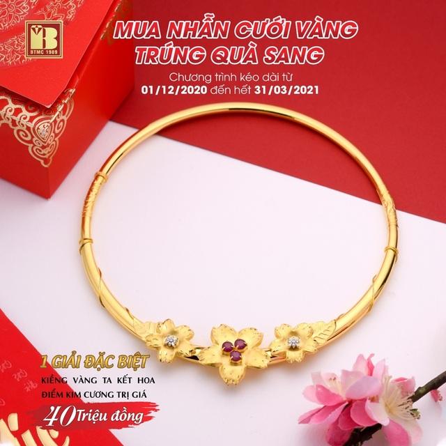 Mua nhẫn cưới vàng trúng quà sang đợt 2 tại Bảo Tín Minh Châu - 2